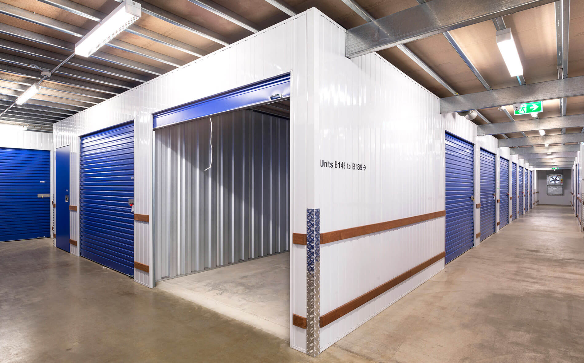Steel Storage - Self Storage Construction