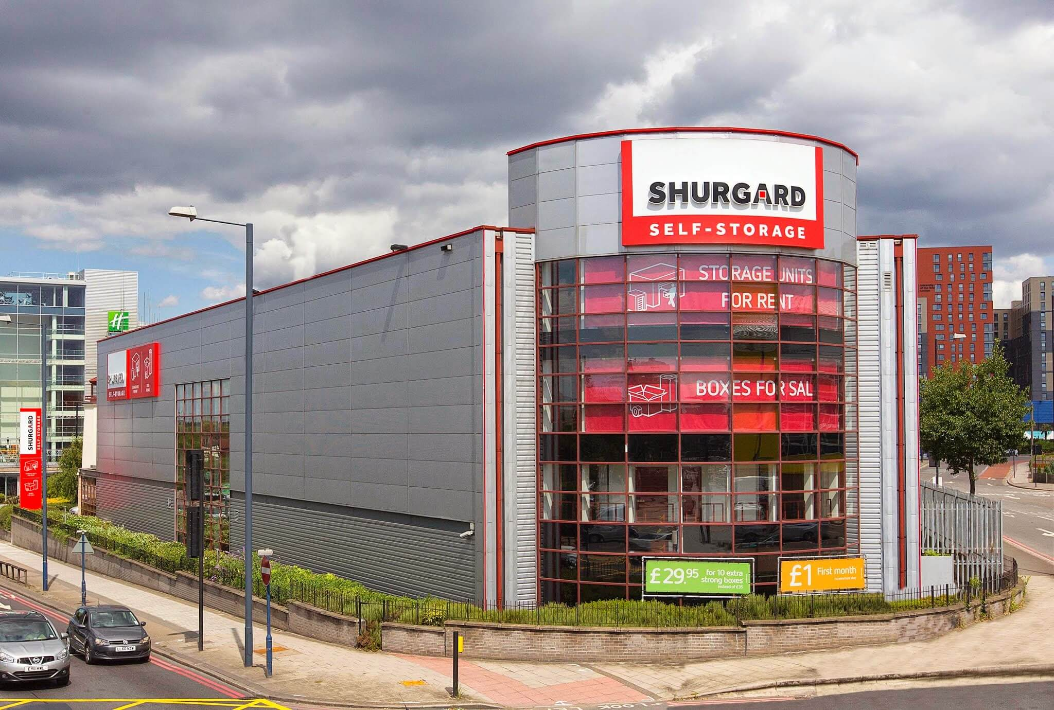 Shurgard Acquires City Box