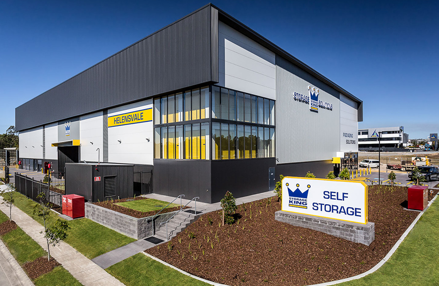 self storage helensvale facility side