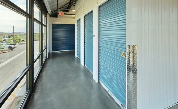 A clean and spacious storage facility